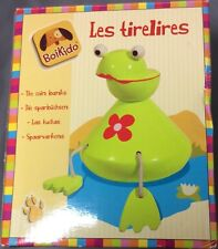 Boikido Les Tirelires Piggy Bank Frog Grenouille Toy Jouet - New in box Nouveau