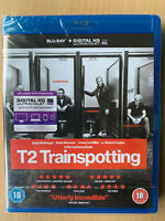 T2 Trainspotting 2 Blu-ray 2017 British Film Movie UK Blu-ray w/ Ewan McGregor
