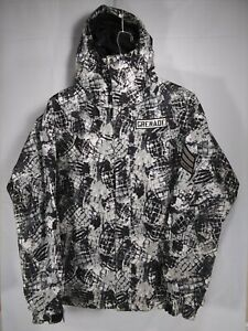 Grenade Fatigue Project Snowboard Winter Jacket Men's Size Small All Over Print
