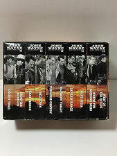 NEVER WATCHED John Wayne Collection II Set of 10 VHS Tapes Collector's Edition