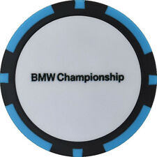 2017 BMW CHAMPIONSHIP (Conway Farms) Logo (BLUE/BLK) POKER CHIP Golf BALL MARKER