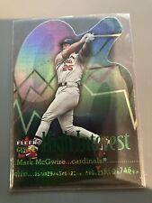 New listing 2001 Fleer Genuine Mark McGwire High interest   Cardinals  # 15
