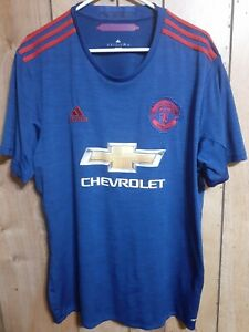 Manchester United 2016/17 Away Jersey, Size XL