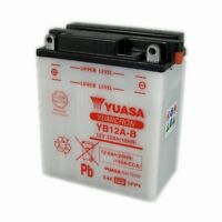 YUASA YB12A-B, 12v 12Ah 165 CCA FOR MOTORCYCLE, MOTORBIKE, QUAD BIKE, JET SKI