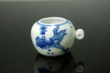 Hand Painted Porcelain Bird Feeder Bowl for Chinese Bamboo Bird Cage Gold Fish