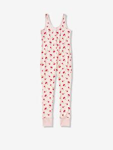 VICTORIA'S SECRET PINK Sleep One Piece Pajama PJ ONESIE LARGE