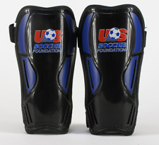 Score Medium Youth Soccer Shin Guards in Blue/Black Free Shipping