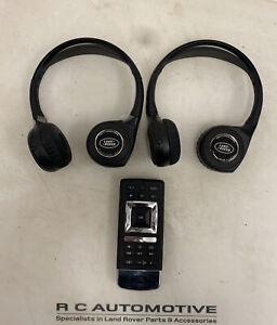 Range Rover L405 Sport L494 DVD Remote Control & Headphones GJ3219G291AE