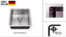 450*450*200mm NEW Handmade StainlessSteel  Kitchen Sink Laundry Sink Round Edge