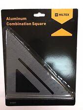 """Carpenter Speed Miter 6"""" Combination Aluminum Square Protractor Framing Alloy"""