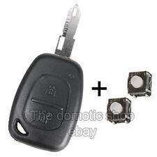 Coque PLIP Télécommande Clé Renault Kangoo Trafic Mascott + 2 Switchs