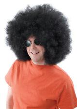 Afro Mega GIGANTE Nero Parrucca ANNI'60'70 JUMBO Costume 118