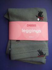 NWT GYMBOREE PENGUIN CHALET GRAY WINTER LEGGINGS SZ 3 GIRL Free US Shipping