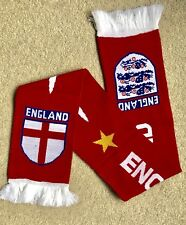 ENGLAND Scarf Brand New Good Size Great Quality Knitted Scarf