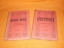 pietro gori conferenze politiche  1a serie e parte 2a ,lettere politiche,1948