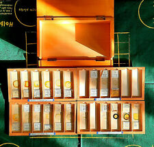 ANTIQUE/ VINTAGE COLLECTION OF SCIENTIFIC MICROSCOPE SLIDES 1920 TO 1990