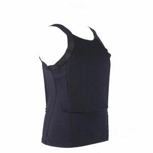 AAA W/B Bulletproof T-shirt Vest Ultra Thin made with Kevlar Body Armor NIJ IIIA