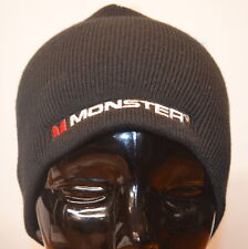MONSTER Sport by KC Caps Advertising Rib Beanie (Black) One Size - Made in USA