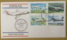PAPUA NEW GUINEA 1987 AIRCRAFT FDC