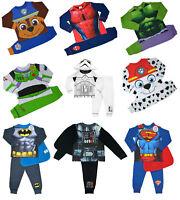 Offcial Characters Kids Boys Superhero 2pcs PJs Sleepwear Pyjamas Nightwear Set
