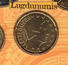 Luxembourg - 2008 - 20 Centimes D'euro FDC Scéllée provenant coffret BU 10000 ex