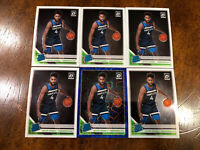Jaylen Nowell 2019-20 Panini Donruss Optic Rookie Lot (6) Blue Velocity & Base