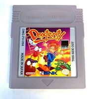 Nintendo Dexterity ORIGINAL Gameboy Game Tested + Working & Authentic!