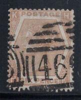 Großbritannien 1872 Mi. 38 Gestempelt 100% 6 Pence, Sieg, K, H.