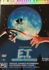 E.T. 2-Disc Special Edition + Slipcase Steven Spielberg Region 2/4 DVD VGC