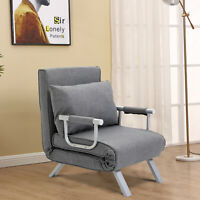 HOMCOM Convertible Sleeper Chair Folding Sofa Bed