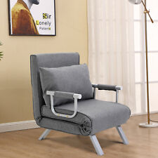 HOMCOM Convertible Sleeper Chair Folding Sofa Bed