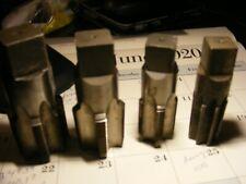 "New listing (4) pcs. Pipe tap set.1""-11 1/2, 1"" reamer, 11/4""-11 1/2, 1 1/2""-11 1/2"