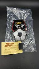 "Miller Genuine Draft Acrylic Beer Tap Handle Soccer Ball 6"""