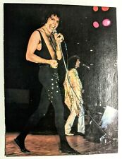 Queen / Freddie Mercury Live / Magazine Full Page Pinup Poster Clipping (2)