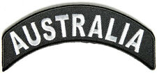 BRAND NEW AUSTRALIA COUNTRY STATE ROCKER BIKER IRON ON PATCH