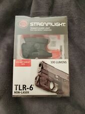Streamlight Tlr-6 Rail Mount Gun Light Only Smith & Wesson M&P Shield White Led