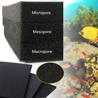 2/4/5cm 0.5m/1m Biological Cotton Filter Foam Pond Aquarium Fish Tank Sponge