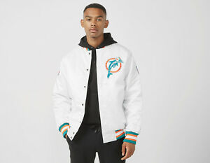 UK Miami Dolphins Footpatrol Packer Starter Jacket S LIMITED EDITION London