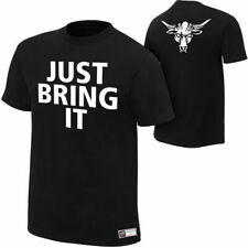 """WWE THE ROCK """"BRAHMA BULL"""" OFFICIAL T-SHIRT ALL SIZES NEW"""