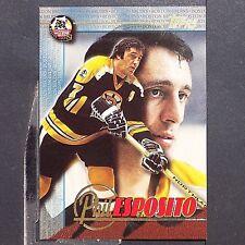 PHIL ESPOSITO  1995-96 Fanfest Phil Esposito #4  TOPPS  Boston Bruins  HOF