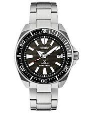 Seiko Prospex Samurai Automatic Black Dial Stainless Men's Diver Watch SRPB51