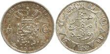 Niederländisch Ostindien, Wilhelmina, 1/4 Gulden 1900