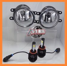 fits Lexus/Scion/Toyota OEM Replacement Clear Fog Lights Set w CREE LED H11