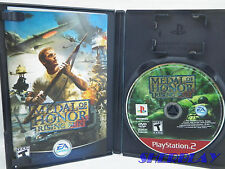 Medal of Honor Rising Sun Sony PlayStation 2 2003 Complete