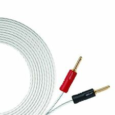 QED Silver Micro Speaker Cable Silver Plated 99.999% OFC - Price Per Metre