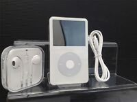 NEW! Apple iPod Classic Video 5th 5.5th Gen White (30GB) (SEARCH & WOLFSON)