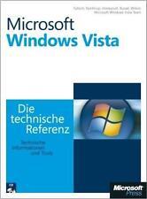 Microsoft Windows Vista - Die technische Referenz von Mitch Tulloch, Tony Northrup und Jerry Honeycutt (2007, Gebundene Ausgabe)
