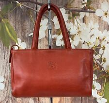 IL BISONTE Handbag Leather Shoulder Bag Satchel