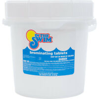 "In The Swim 1"" Inch Bromine Sanitizer Tablets for Swimming Pool 8 Lbs."
