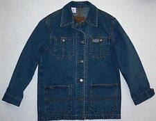 Womens PP Lauren Jeans Co Ralph Lauren Unlined Denim Field Jacket Barn Coat